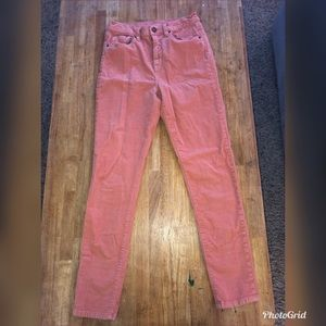 Urban Outfitters BDG corduroy high rise pants 28